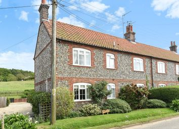 Thumbnail 3 bed cottage for sale in The Street, Kelling, Holt