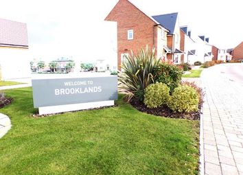 Thumbnail 3 bed terraced house for sale in Maritime Way, Brooklands, Milton Keynes