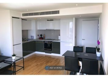 Thumbnail 1 bed flat to rent in Landmark West Tower, London