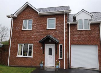 Thumbnail 4 bedroom semi-detached house for sale in Maes Crugiau, Rhydyfelin, Aberystwyth