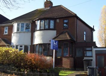 Thumbnail 3 bedroom semi-detached house for sale in Marsham Road, Kings Heath, Birmingham