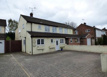 Thumbnail 4 bed semi-detached house for sale in West Heath Road, Farnborough