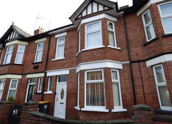 Thumbnail 3 bed terraced house for sale in Aston Crescent, Newport