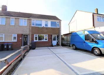 Thumbnail 3 bed end terrace house for sale in Pentland Road, Worthing