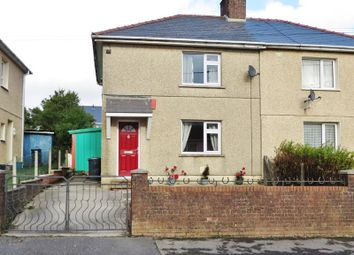 Thumbnail 3 bed semi-detached house for sale in Lansbury Road, Brynmawr, Ebbw Vale