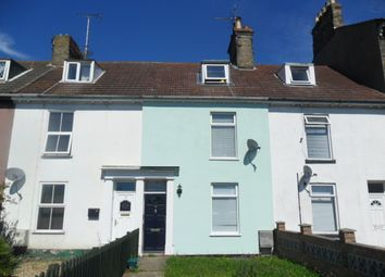 Thumbnail 3 bed terraced house to rent in Denmark Road, Lowestoft
