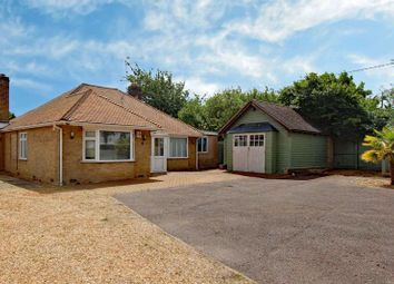 Thumbnail 3 bed detached bungalow to rent in New Lane, Stibbington, Peterborough