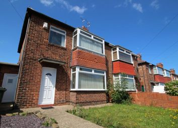 Thumbnail 3 bed semi-detached house to rent in Mowbray Road, North Shields