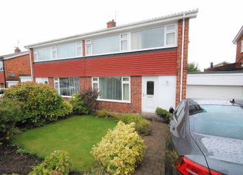 Thumbnail 3 bed semi-detached house for sale in Meadow Close, Ryton