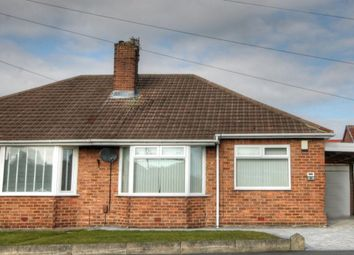 Thumbnail 2 bed bungalow for sale in Downend Road, Hillheads Estate, Newcastle Upon Tyne