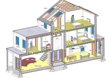 Thumbnail 3 bed property for sale in The Cross, Church Road, Caldicot