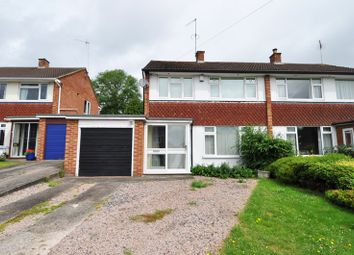 Thumbnail 3 bed semi-detached house to rent in Hopgardens Avenue, Stoney Hill, Bromsgrove
