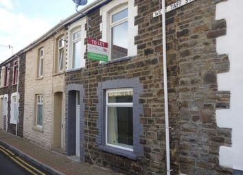 Thumbnail 2 bed terraced house to rent in West Taff Street, Porth