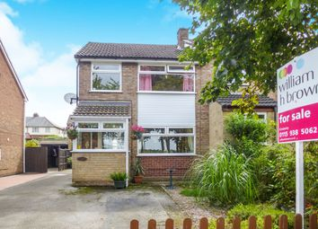 Thumbnail 3 bed semi-detached house for sale in Meadow Road, Awsworth, Nottingham