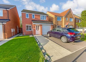 Thumbnail 3 bed detached house for sale in Buttercup Close, Shotton Colliery, Durham