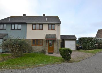 Thumbnail 3 bed semi-detached house to rent in Parc An Yorth, Trewellard, Pendeen, Penzance