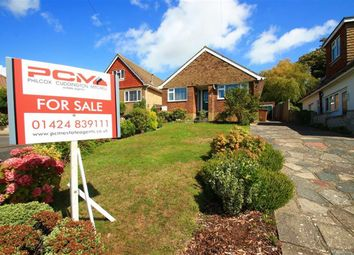 Thumbnail 3 bed detached bungalow for sale in Kenwood Close, Hastings, East Sussex