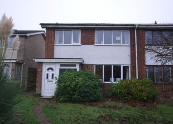 Thumbnail 3 bed semi-detached house for sale in The Warren, Old Catton, Norwich