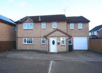 Thumbnail 4 bed detached house for sale in Elwell Avenue, Barwell, Leicester