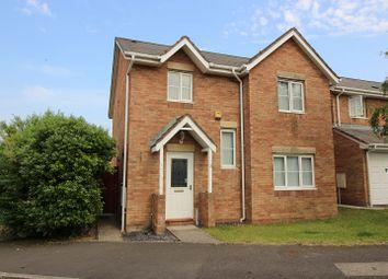 Thumbnail 4 bed detached house for sale in Llys Pentre, Broadlands, Bridgend.