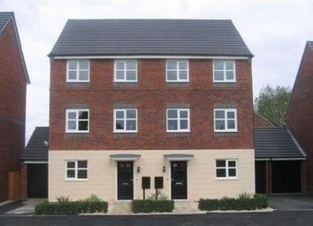 Thumbnail 4 bed town house to rent in Girton Way, Derby