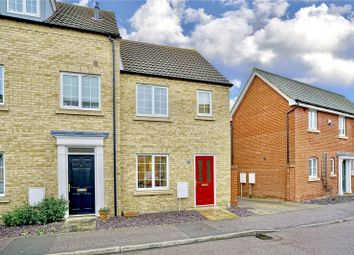 Thumbnail 2 bed end terrace house for sale in Bevington Way, Eynesbury, St Neots