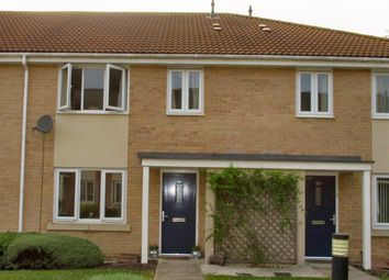 Thumbnail 2 bed terraced house to rent in Beckets Close, Saxon Village, Grantham