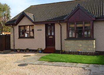 Thumbnail 2 bed semi-detached bungalow for sale in Knockomie Rise, Forres