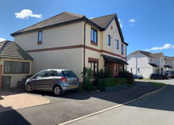 Thumbnail 4 bed semi-detached house for sale in The Gardens, Chudleigh, Newton Abbot
