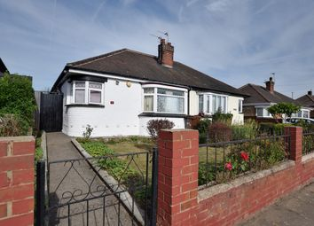 Thumbnail 2 bed semi-detached bungalow for sale in Crowland Avenue, Grimsby, South Humberside