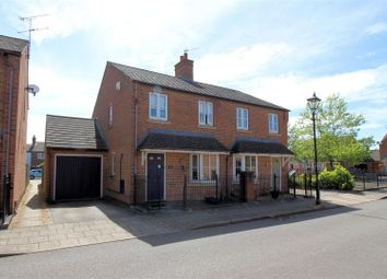 Thumbnail 3 bed semi-detached house for sale in Turnham Way, Aylesbury