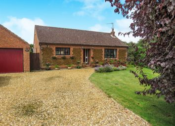 Thumbnail 4 bed detached bungalow for sale in Low Road, Stow Bridge, King's Lynn