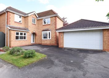 Thumbnail 4 bedroom detached house for sale in Hawkstone Close, Duston, Northampton