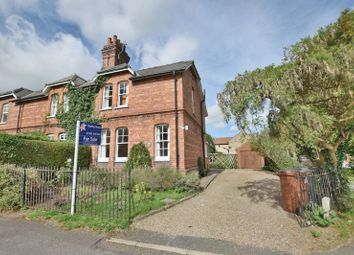 Thumbnail 3 bed semi-detached house for sale in The Green, Potterhanworth, Lincoln