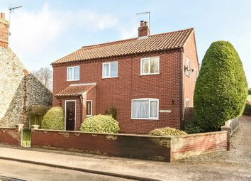 Thumbnail 4 bedroom detached house for sale in Front Street, South Creake, Fakenham