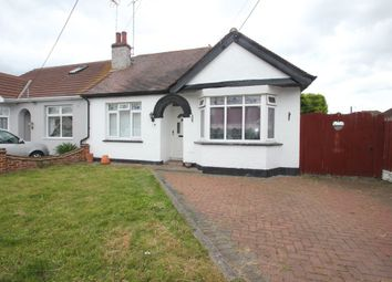 Thumbnail 2 bedroom semi-detached bungalow for sale in Sweyne Avenue, Hockley