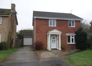 Thumbnail 4 bedroom detached house for sale in Ninfield Close, Carlton Colville, Lowestoft, Suffolk
