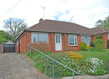 Thumbnail 2 bed semi-detached bungalow for sale in Manor Crescent, Hitchin, Hertfordshire