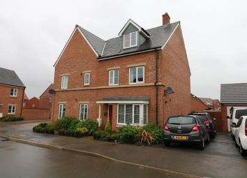 Thumbnail 4 bed semi-detached house for sale in Freshman Way, Market Harborough, Leicestershire