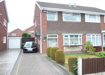 Thumbnail 3 bedroom semi-detached house for sale in Soberton Close, Wednesfield, Wednesfield