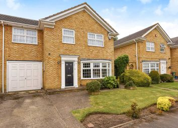 Thumbnail 4 bed link-detached house for sale in Hartfield Avenue, Elstree, Borehamwood