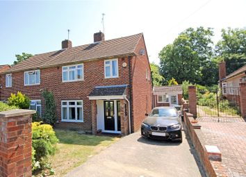 Thumbnail 3 bed semi-detached house for sale in Franklands Drive, Addlestone, Surrey