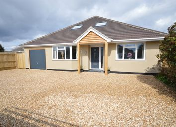 Thumbnail 5 bed detached bungalow for sale in Heathy Close, Barton On Sea, New Milton