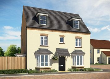 """Thumbnail 4 bed detached house for sale in """"Hertford"""" at Popes Piece, Burford Road, Witney"""