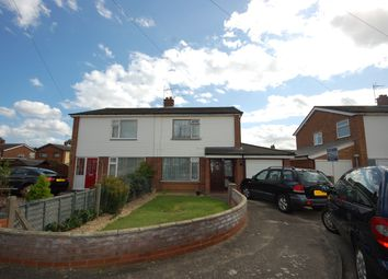 Thumbnail 3 bed semi-detached house to rent in Hollycroft Close, Ipswich, Suffolk