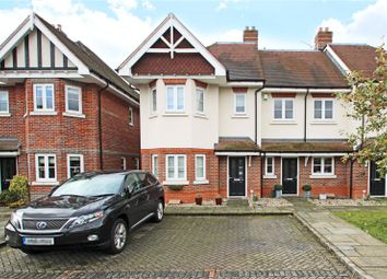 Thumbnail 4 bed end terrace house to rent in Knights Mead, Chertsey, Surrey