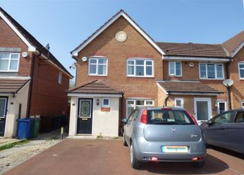 Thumbnail 3 bed town house for sale in Astbury Close, Bury