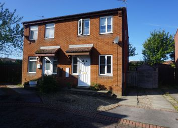 Thumbnail 2 bed semi-detached house for sale in Hind Court, Newton Aycliffe