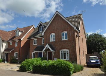 Thumbnail 3 bed semi-detached house for sale in Willow Farm Meadow, Worlingworth, Woodbridge