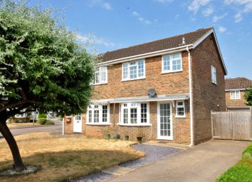 Thumbnail 3 bed semi-detached house for sale in Bannister Close, Witley, Godalming